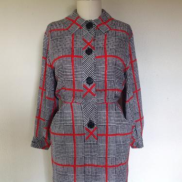 1980s Adele Simpson silk dress by VelvetGoldmineShop