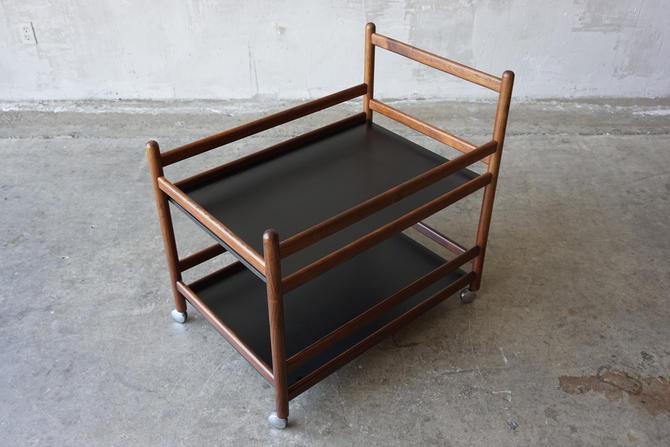Niels Erik Glasdam Jensen Rosewood Cart by FandFVintage