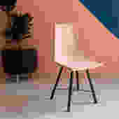 Pink Cement Chair