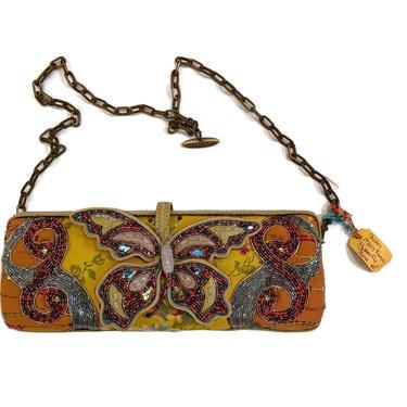Mary Frances Butterfly Shoulder Handbag