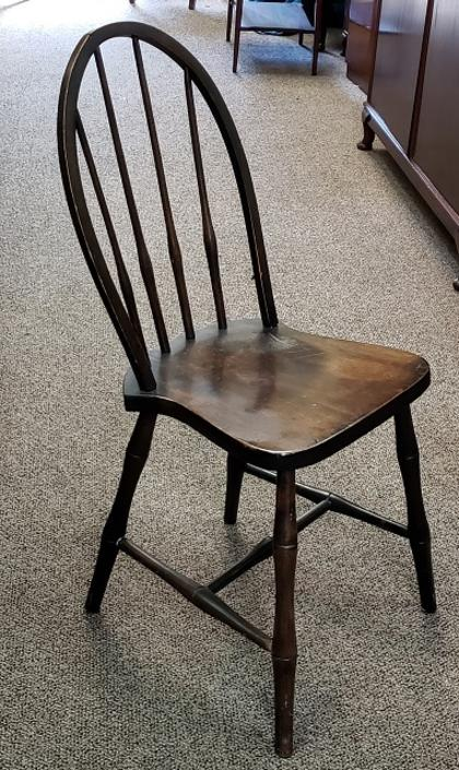 Item #DM19 Early 20th c. Hand Made American Walnut Side Chair