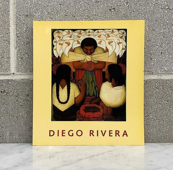 Vintage Diego Rivera A Retrospective Book Retro 1980s Mexican Art + Photos and Drawings + Paintings = Murals + Softback + First Edition + by RetrospectVintage215
