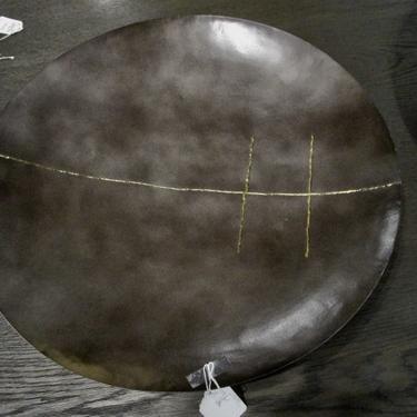 24″DIAM METAL WALL ART