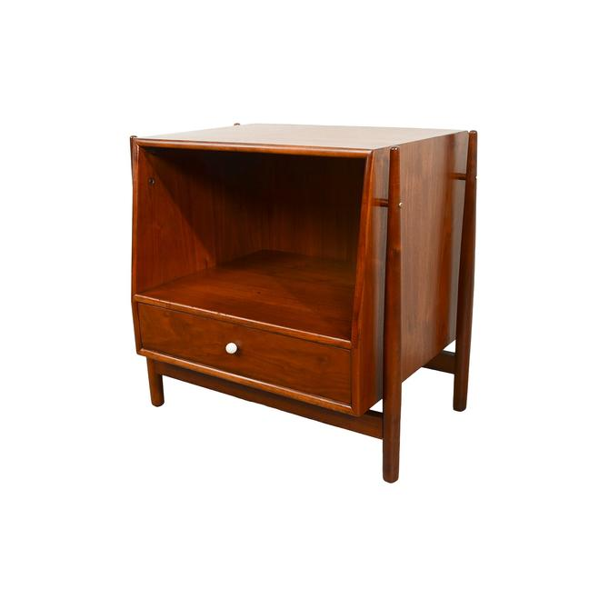Walnut  Nightstand Table Side Table Drexel Declaration  Mid Century Modern 1950 by HearthsideHome