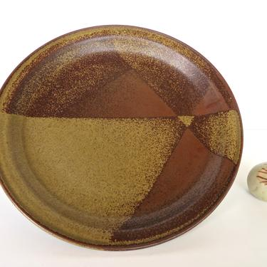 """Single Iron Mountain Stoneware Dinner Plate, Replacement Dinner Plate in Roan, 11"""" Rustic Modern Stoneware Plate- 3 Available by HerVintageCrush"""
