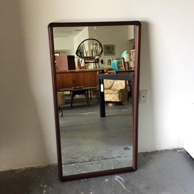 HA-19078 Large Danish Rosewood Frame Mirror