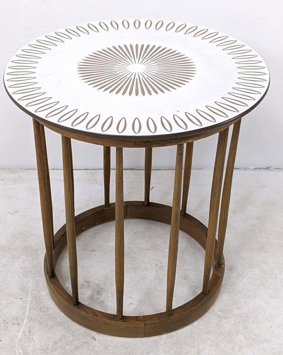 John Van Koert Designed Lamp Table for Drexel