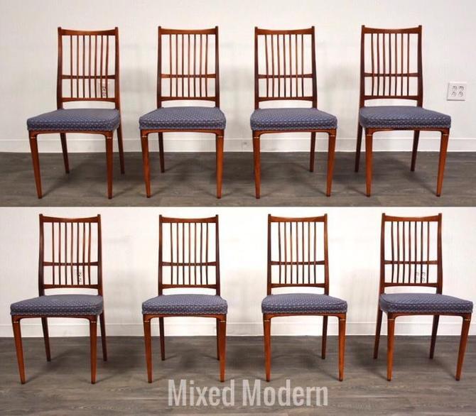 Svante Skogh Swedish Cortina Dining Chairs- Set of 8 by mixedmodern1
