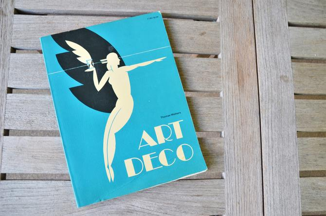 Art Deco,  first edition 1973  - Vintage Paperback Design Movement Reference Book by SourcedModern