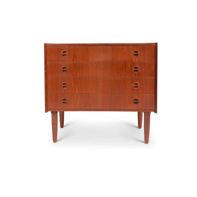 Vintage Danish Modern Four Drawer Chest by MCMSanFrancisco