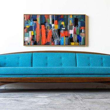 Kroehler Mid-Century Modern Sofa by formermodern