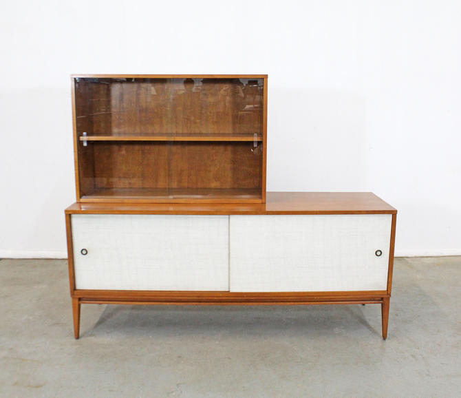 Mid-Century Modern Paul McCobb Planner Group 2-Piece Credenza/Media Console by AnnexMarketplace