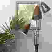 vintage mid century modern 3 headed floor lamp
