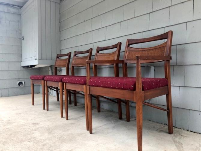 Midcentury American Martinsville Dining Chair Set