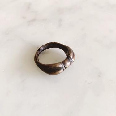 Vintage Solid Brass Ring by TheDistilleryVintage