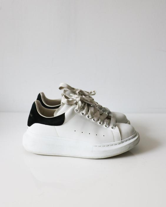 Alexander McQueen Oversized Sneakers, Size 37.5