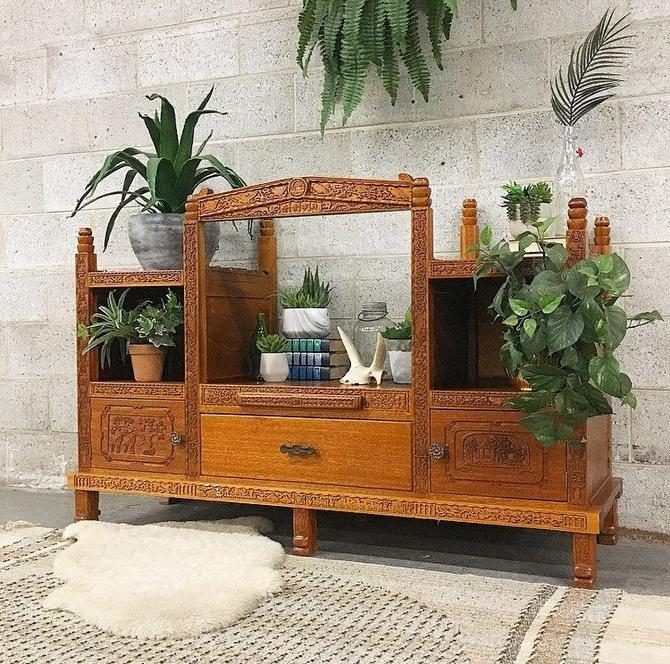 LOCAL PICKUP ONLY ------------- Vintage Prayer Cabinet by RetrospectVintage215