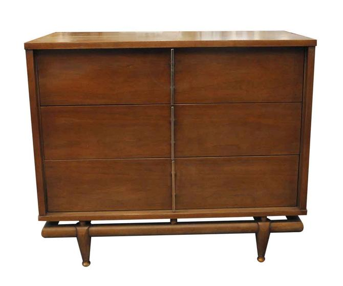 Mid Century Kent Coffey Walnut Dresser
