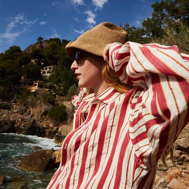 Terra Red Stripes Pablo Shirt