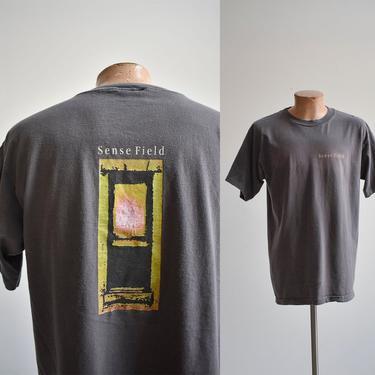 Vintage Sense Field Band Tshirt by milkandice