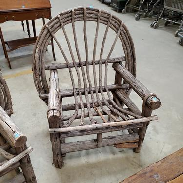 Rustic Bent Twig Chairs