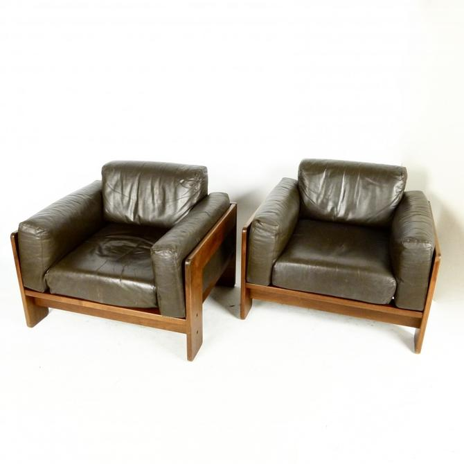 "Pair of Tobia Scarpa ""Bastiano"" Lounge Chairs"