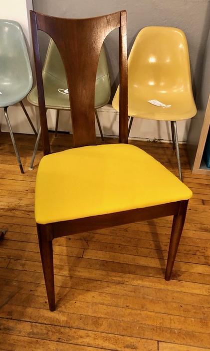 Single Broyhill Emphasis Walnut Dining Chair/Desk Chair