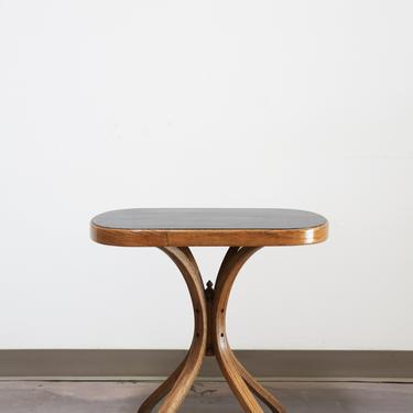 Vintage MCM Bentwood Side Table by GoldmineUnlimited