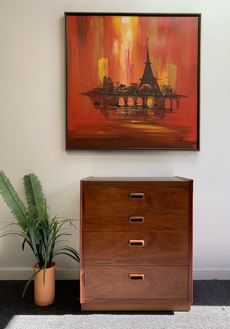Mid Century Modern Small Dresser From Modage Furniture Of