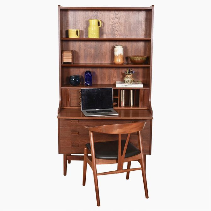 Danish Modern Teak Bookcase \/ Display \/ Secretary