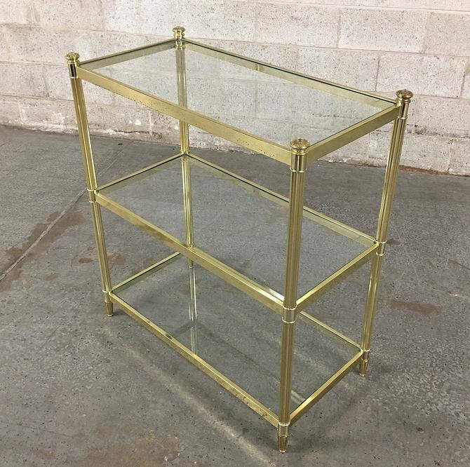 LOCAL PICKUP ONLY ———— Vintage Metal Etagere by RetrospectVintage215