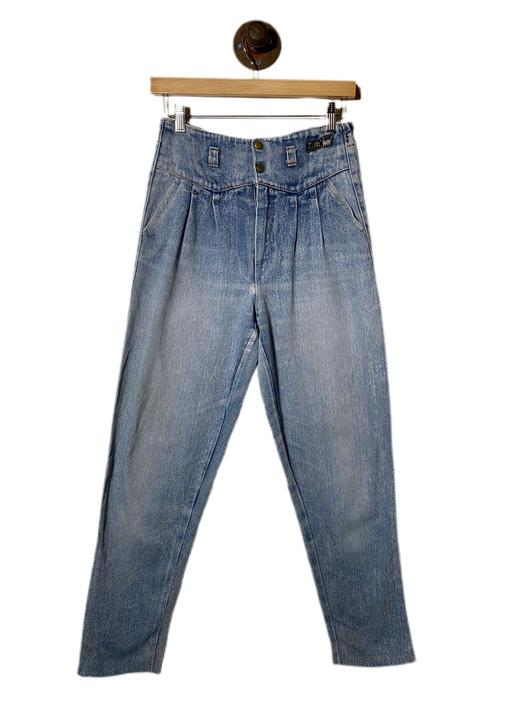 "(28"") Rich Highwaist Denim Pants 022221"