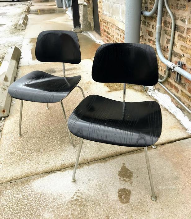 Vintage Herman Miller Eames® Molded Plywood Dining Chair (DCM)