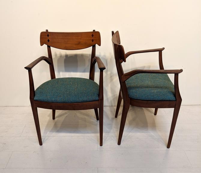Astonishing Mid Century Modern Dining Chairs By Kipp Stewart For Drexel Dailytribune Chair Design For Home Dailytribuneorg