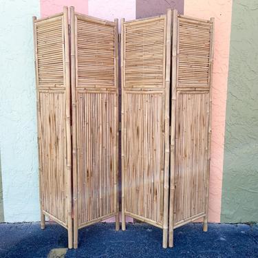 Island Style Bamboo Screen