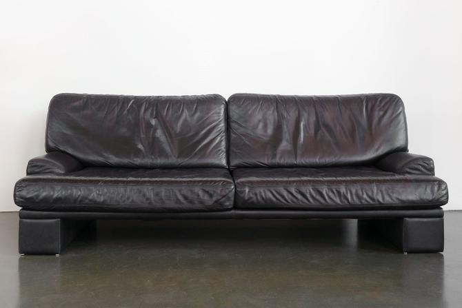 Mod Leather Sofa