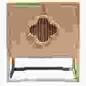 Minimalist Light Raw Wood Shutter Doors Credenza Storage Cabinet cs5136S