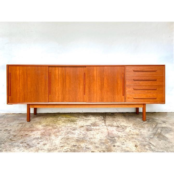 Danish Modern Teak Credenza / Sideboard