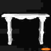 Hollywood Regency White Console
