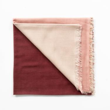 Blok Rosewood - Cashmere Silk Scarf