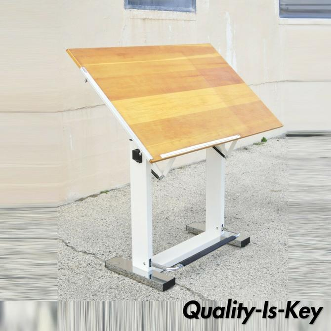 Tecnostyl Magnum Drafting Table Drawing Board Adjustable Foot Pedal Metal Frame
