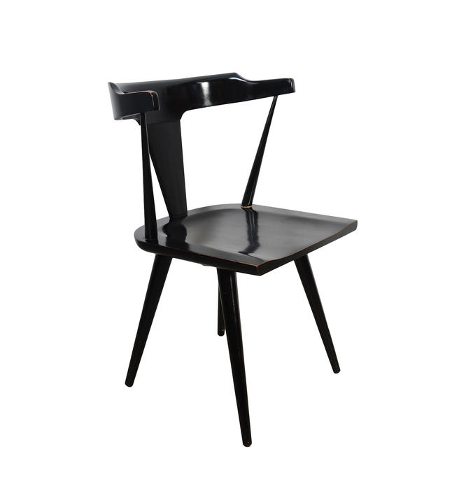 Paul McCobb Black Dining Chair Planner Group Winchendon Mid Century Modern by HearthsideHome