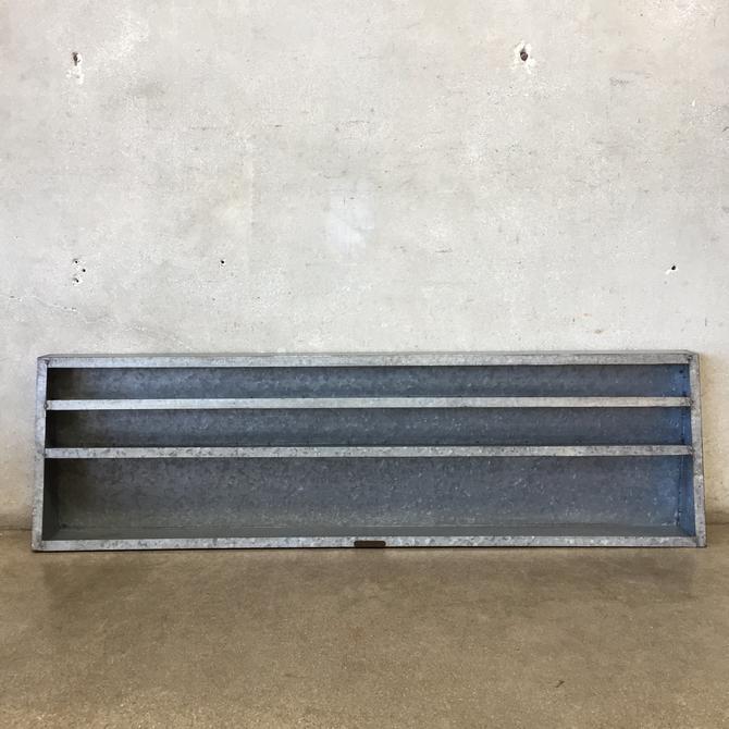 Galvanized Wall Shelves