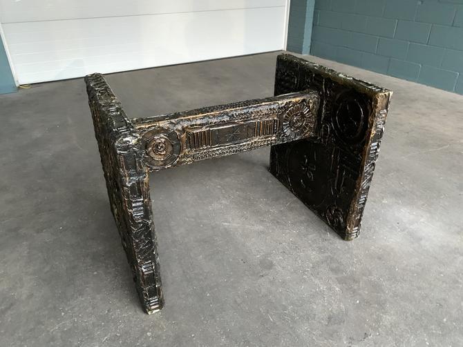 Adrian Pearsall Brutalist Dining Table by HermansSteelGarage