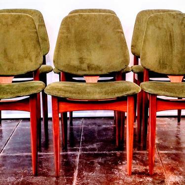 Arne Hovmand Olsen Chairs   1960s