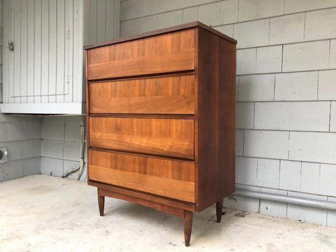 Midcentury Tall Dresser/Bachelor's Chest
