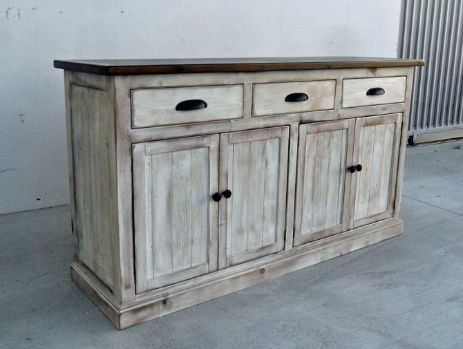 Sideboard, Server, Console Cabinet, Reclaimed Wood, Buffet, Vintage, Rustic, Shabby Chic, VMW174sb by VintageMillWerks