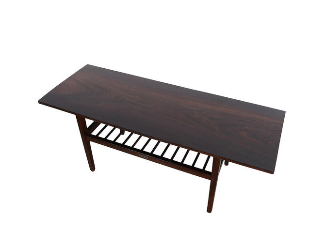 Rosewood Coffee Table Mid Century Modern by HearthsideHome