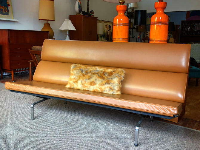 Authentic Eames Compact Sofa