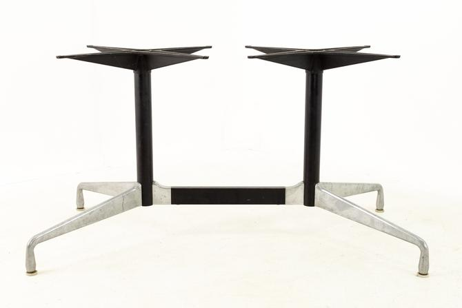 Charles and Ray Eames for Herman Miller Aluminum Mid Century Table Base - mcm by ModernHill